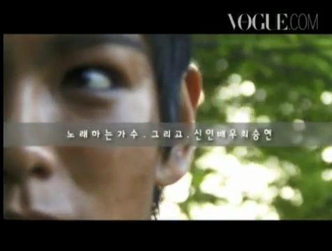【和訳追加】タプ@VOGUE interview&撮影現場映像|SE7EN Seas ♪.flv_000038707