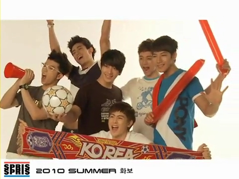 2PM - Spris summer collection BTS.flv_000169042