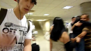 [FANCAM] 2PM   Wonder Girls arriving in LA.flv_000092790