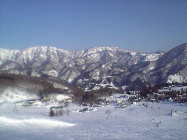 白馬乗鞍スキー場里見中央ゲレンデ
