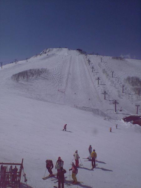 八方尾根スキー場兎平ゲレンデ