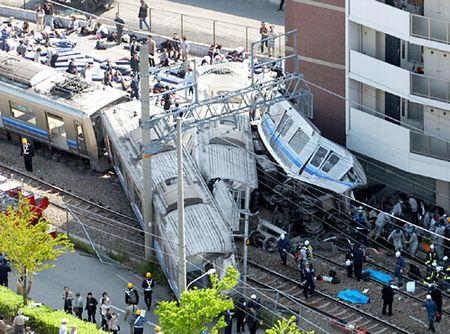 JR宝塚線塚口~尼崎駅間における脱線事故