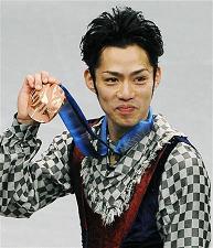 高橋大輔、銅メダル