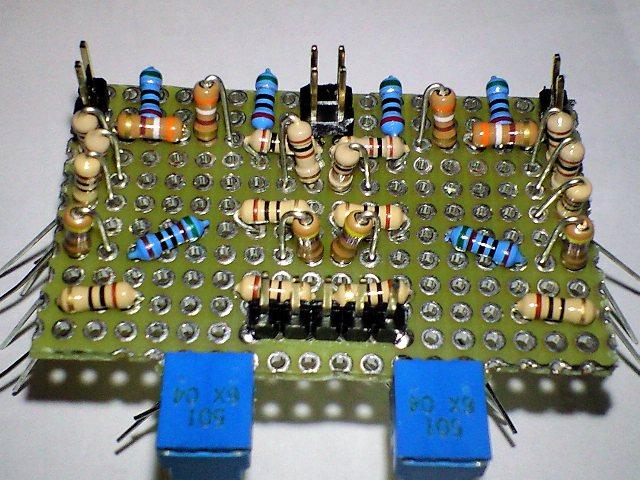 HA10モジュール抵抗配置写真