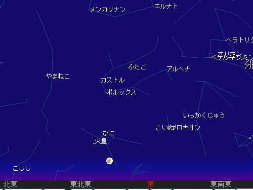 2010 1 30 ブルームーンをあなたと星図