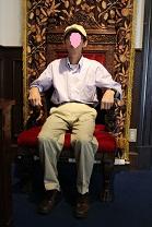 サターンの椅子左