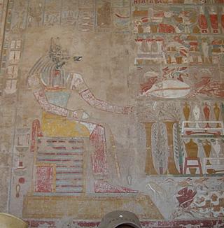 ハトシェプスト女王葬祭殿壁画