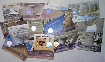 エジプト旅行のチケット