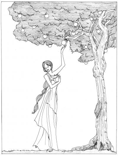イズンのリンゴの木