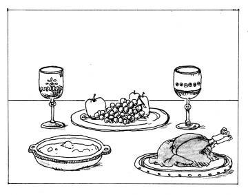 宴のごちそう