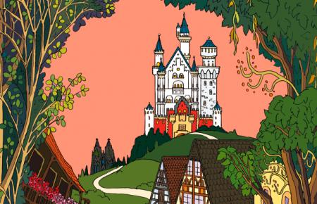 お城とケルン