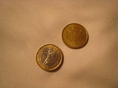 ダヴィンチのコイン