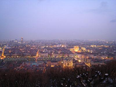 フルビエールの丘夜景