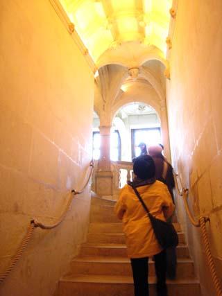 シュノンソー城階段