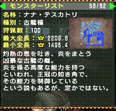 ナナちゃん狩猟数100