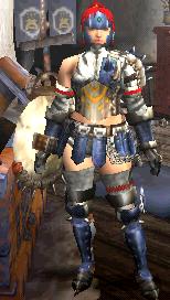クロオビX・剣士