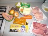 20100321シェリルー調理 食材一式