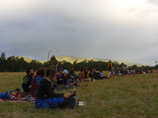 rainbow gathering in tasmania 2009