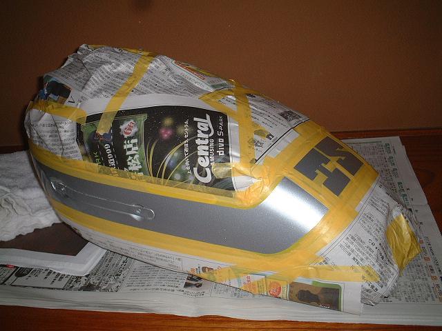 TSタンク白塗装