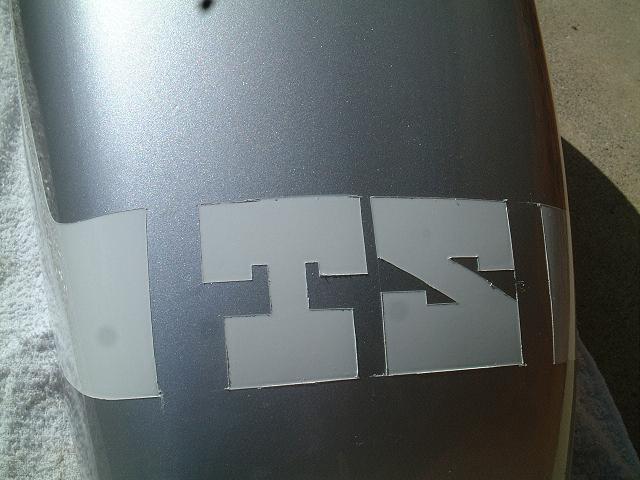 文字塗装バリ修正