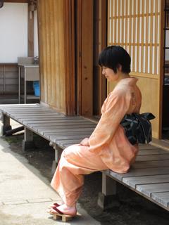 浴衣染め2010:赤系
