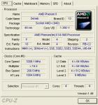 BIOSメニューでCPUのクロック倍率変えただけ。