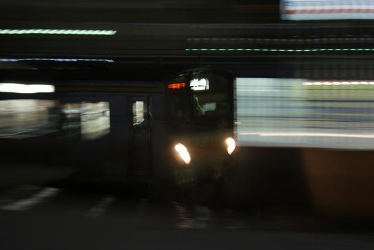 夜の南武線-1