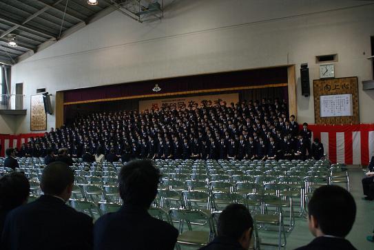 卒業生合唱