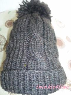 ニット帽子 1-1