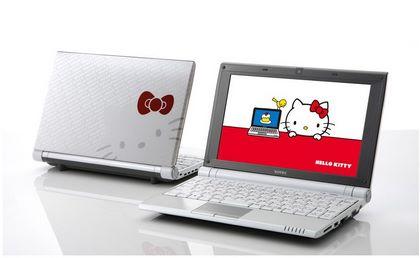オンキヨーのネットブック「SOTEC C1」からハローキティモデル