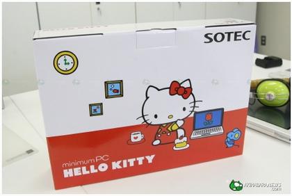 ハローキティモデルのネットブック 「SOTEC C1」