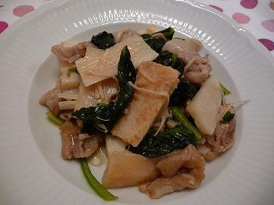 長芋と小松菜炒め.jpg