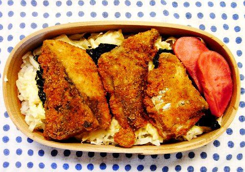 クッキングパパ 鰆の桜揚げ弁当