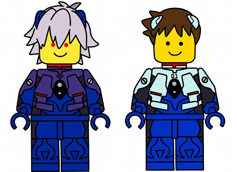 LEGOミニフィグ風53