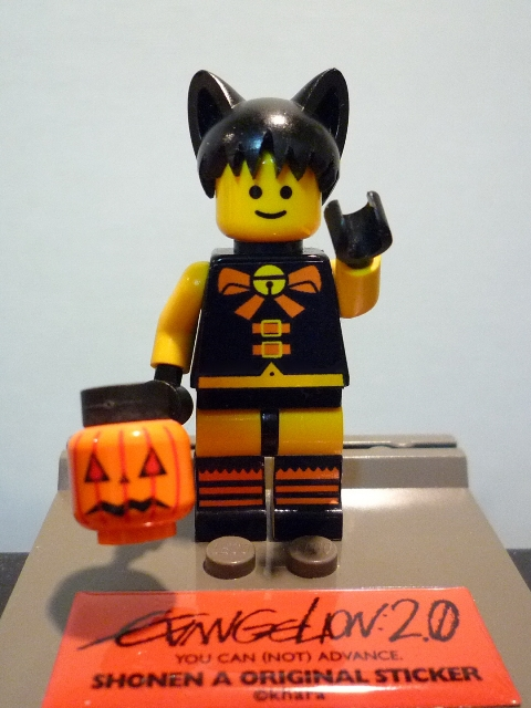 LEGOミニフィグ改造ハロウィンシンジ