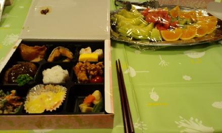 納涼祭お弁当