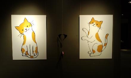 キャラクター猫
