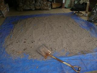 二次発酵開始31日目のボカシ肥料