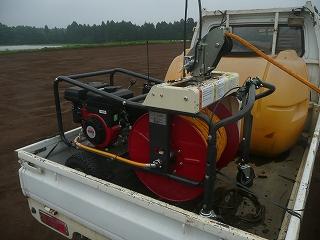 新しい動力噴霧器