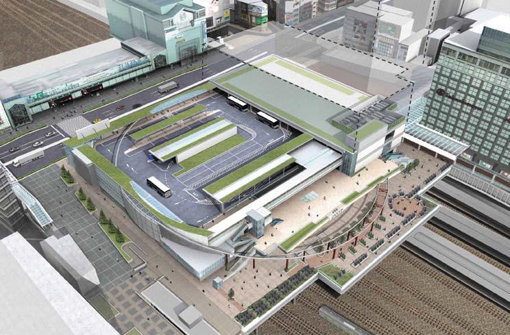 新宿駅南口基盤整備事業