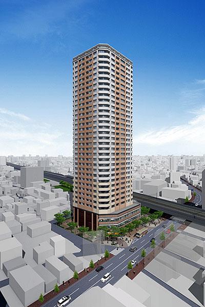 三河島駅前南地区再開発1