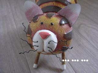 ブリキのネコ