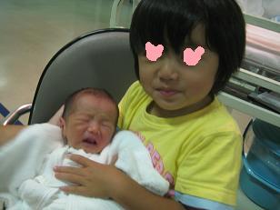 0902赤ちゃんとみ~ちゃん