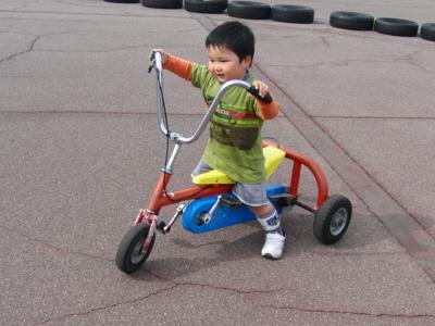ゾッキーな三輪車