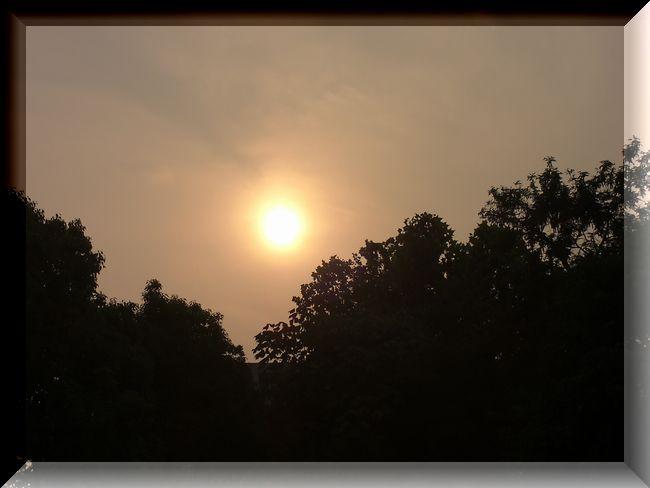 夕陽 焼け