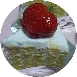 20091225いちごケーキ