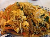 Rice noodle singapore style