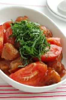 トマトの酢豚