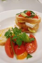 トマトの桂花陳酒シロップ煮