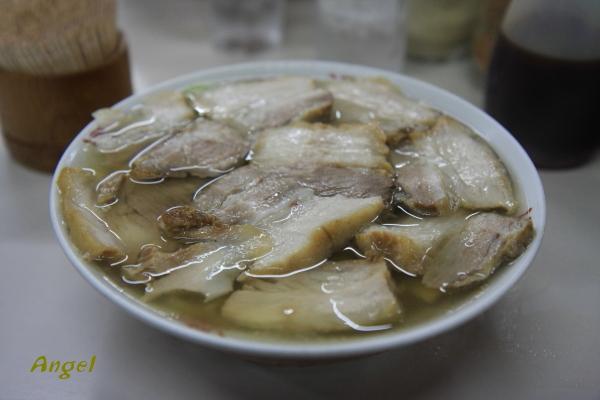 喜多方ラーメン肉そば900円